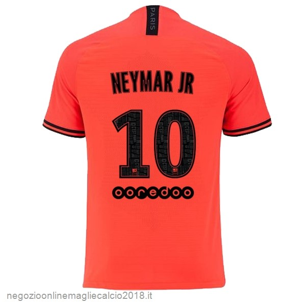 NO.10 Neymar JR Away Online Maglie Calcio Paris Saint Germain 2019/20 Oroange