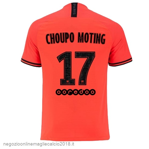 NO.17 Choupo Moting Away Online Maglie Calcio Paris Saint Germain 2019/20 Oroange