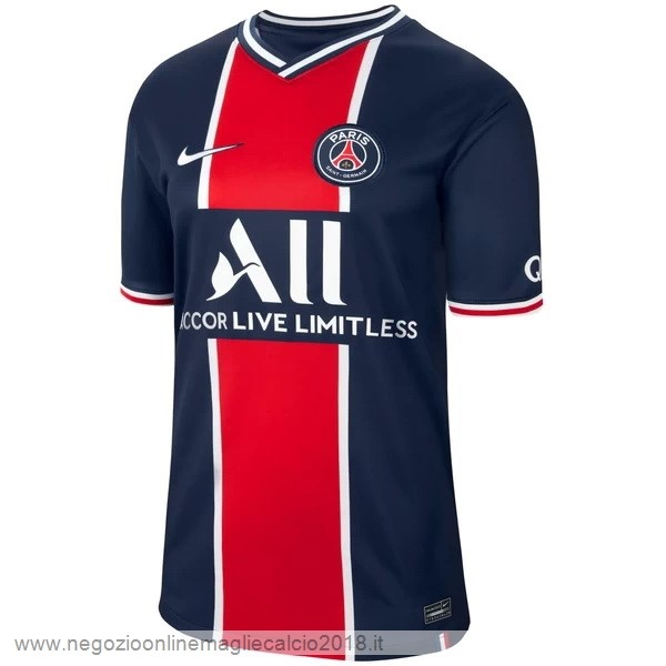 Thailandia Home Online Maglia Paris Saint Germain 2020/2021 Blu