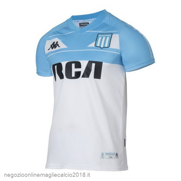 Home Online Maglie Calcio Racing Club 100th Bianco Blu