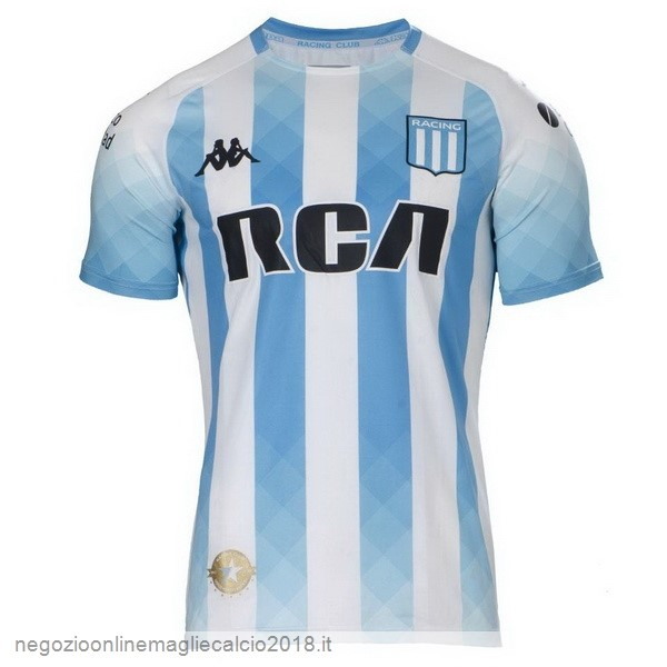 Home Online Maglie Calcio Racing Club 2019/20 Blu