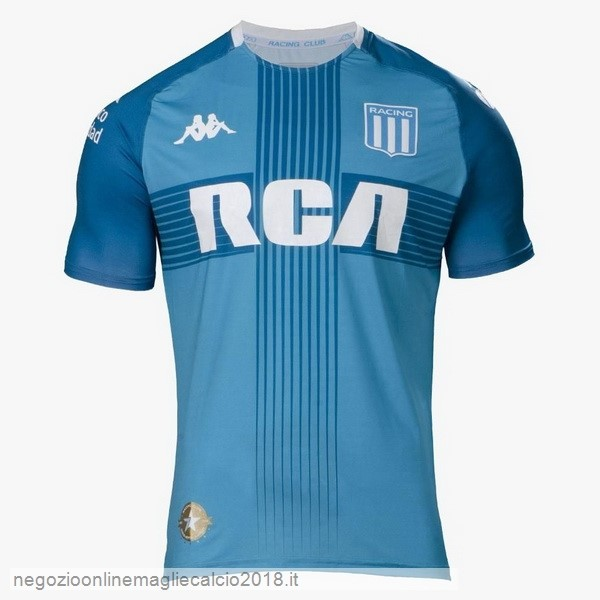 Terza Online Maglie Calcio Racing Club 2019/20 Blu