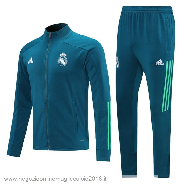 Giacca Real Madrid 2020/21 Verde Navy