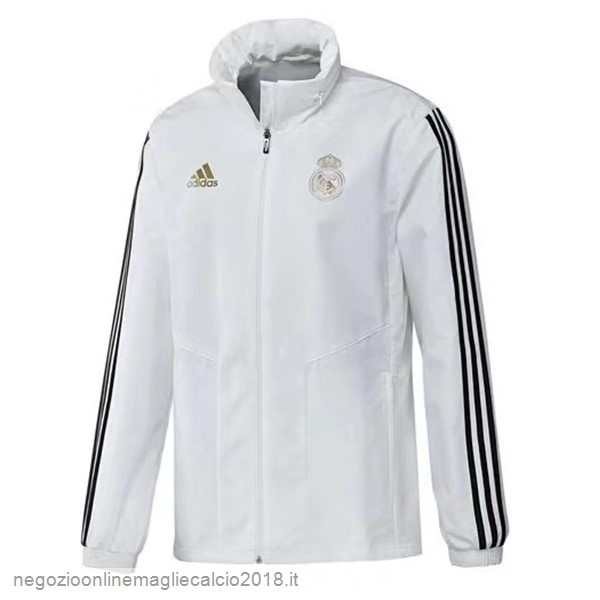 Online Giacca a vento Real Madrid 2019/20 Bianco Nero