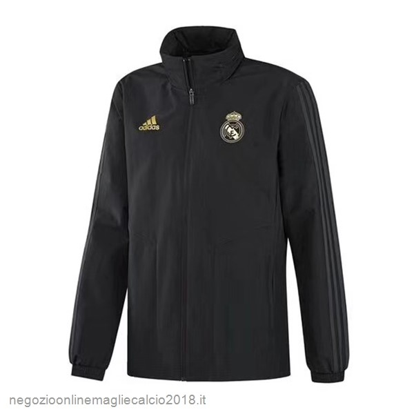 Online Giacca a vento Real Madrid 2019/20 Nero Giallo