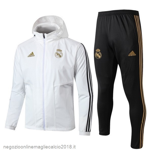 Online Set Completo Giacca a vento Real Madrid 2019/20 Bianco Nero
