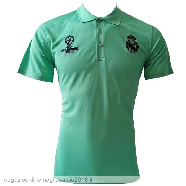 Online Polo Real Madrid 2019/20 Verde Nero
