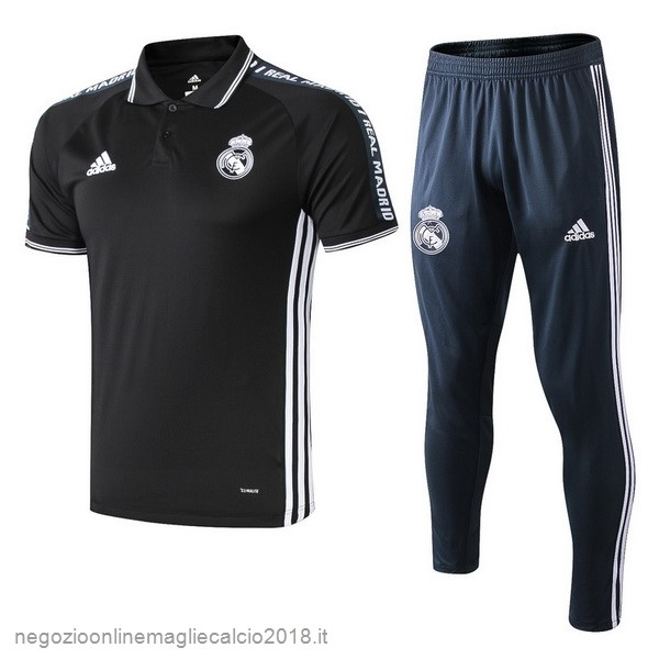 Online Set Completo Polo Real Madrid 2019/20 Nero