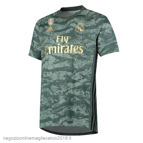 Away Online Maglie Calcio Portiere Real Madrid 2019/20 Verde
