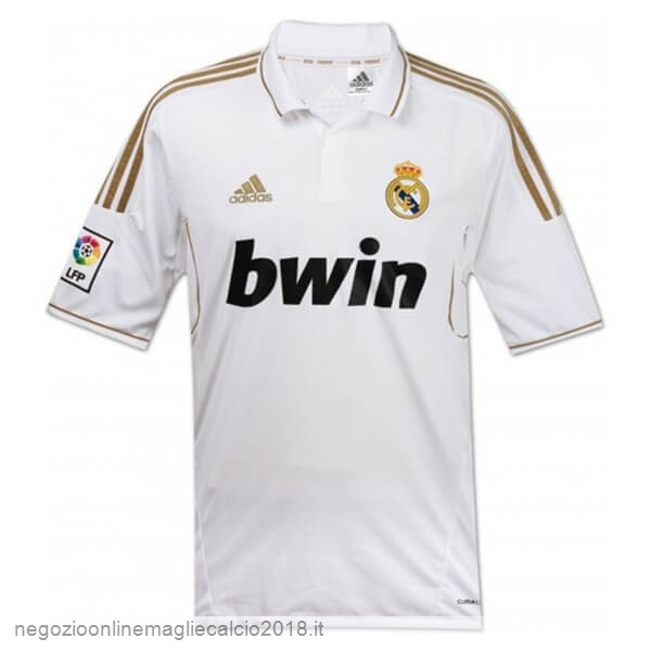 Home Online Maglie Calcio Real Madrid Retro 11 12 Bianco