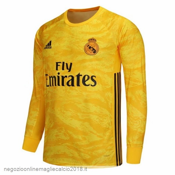 Home Online Manica lunga Portiere Real Madrid 2019/20 Giallo