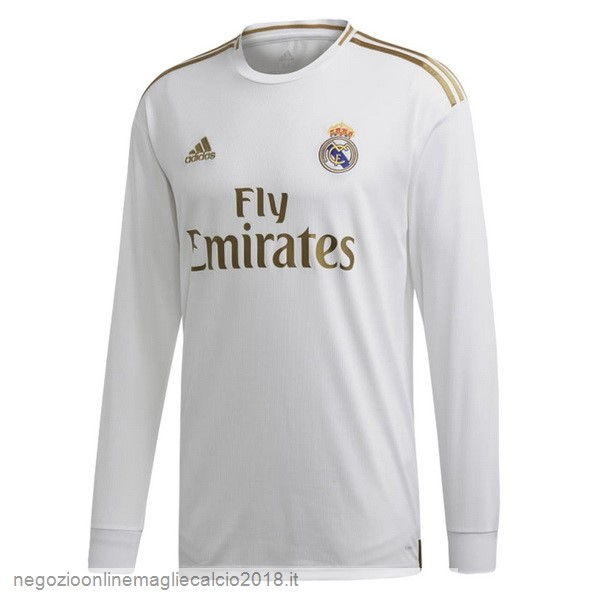 Home Online Manica lunga Real Madrid 2019/20 Bianco