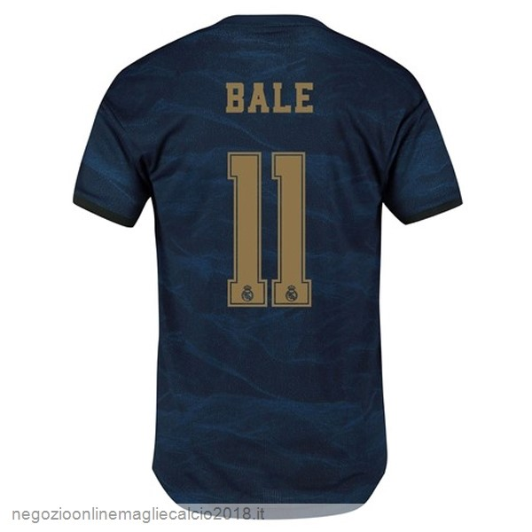 NO.11 Bale Away Online Maglie Calcio Real Madrid 2019/20 Blu
