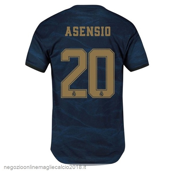 NO.20 Asensio Away Online Maglie Calcio Real Madrid 2019/20 Blu