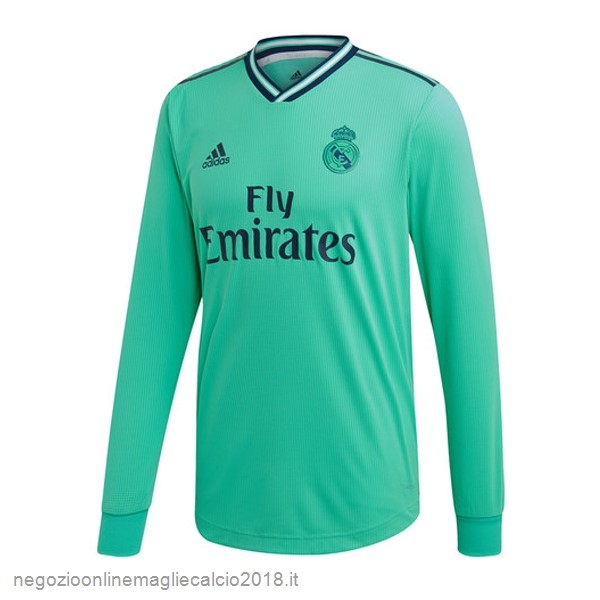 Terza Online Manica lunga Real Madrid 2019/20 Verde