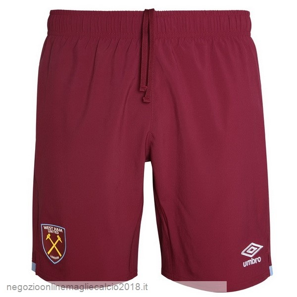 Home Online Pantaloni West Ham United 2019/20 Rosso