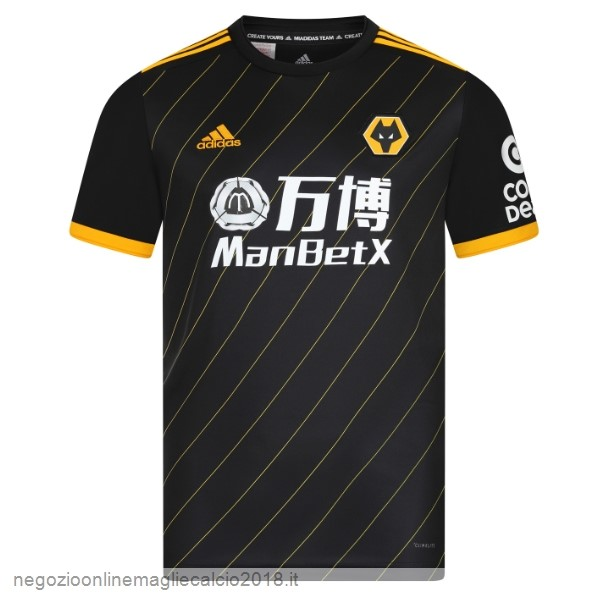 Away Online Maglie Calcio Wolves 2019/20 Nero